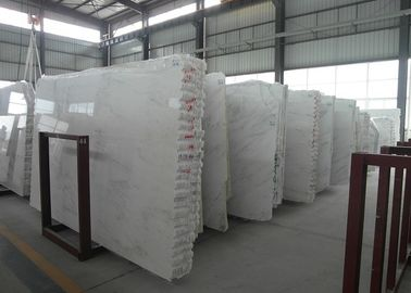 Chinese Cararra Marble Starry White Star White Silk Georgette white stone marble flooring walling  tiles slabs